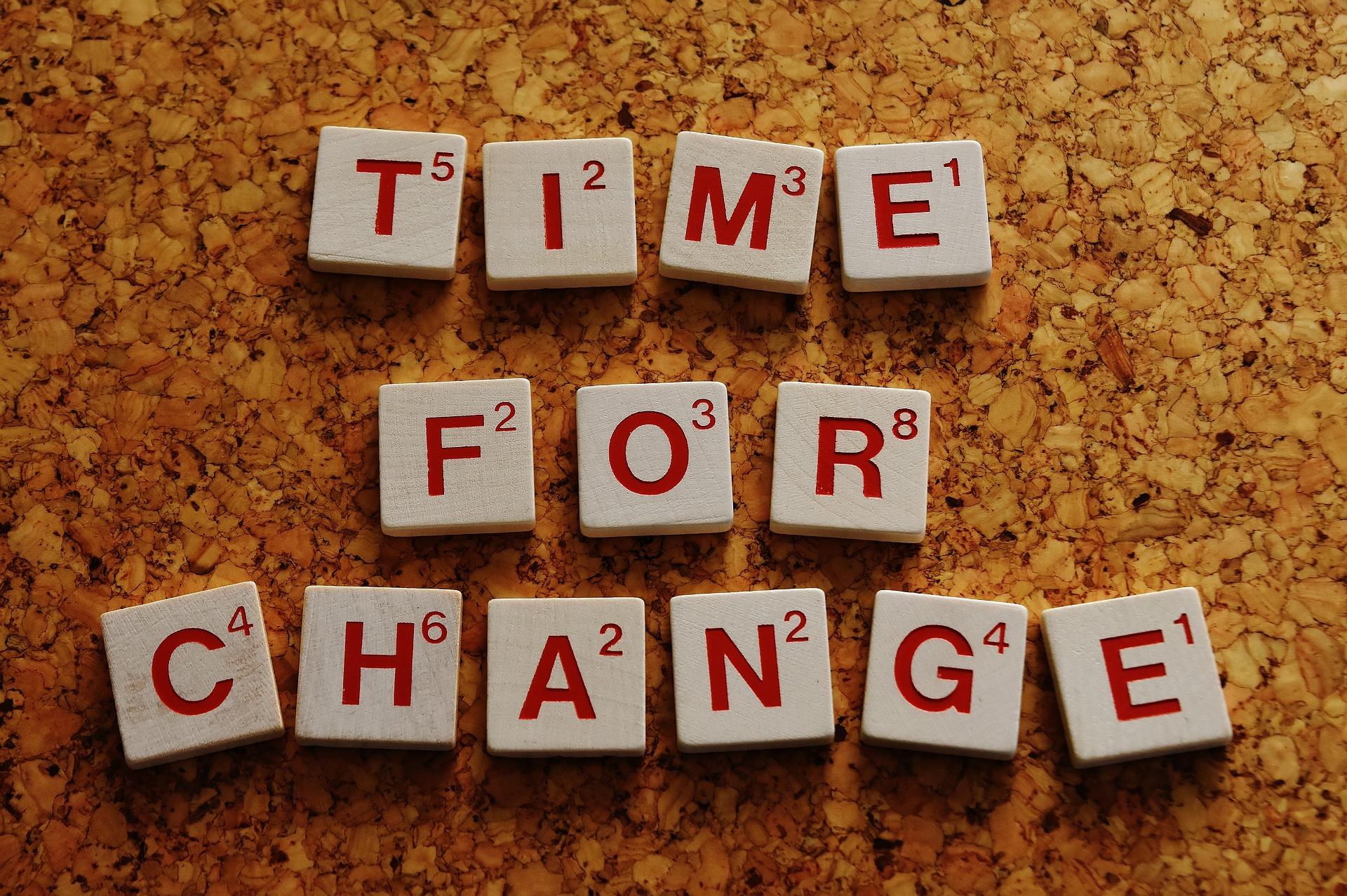 הפחד בשינוי…